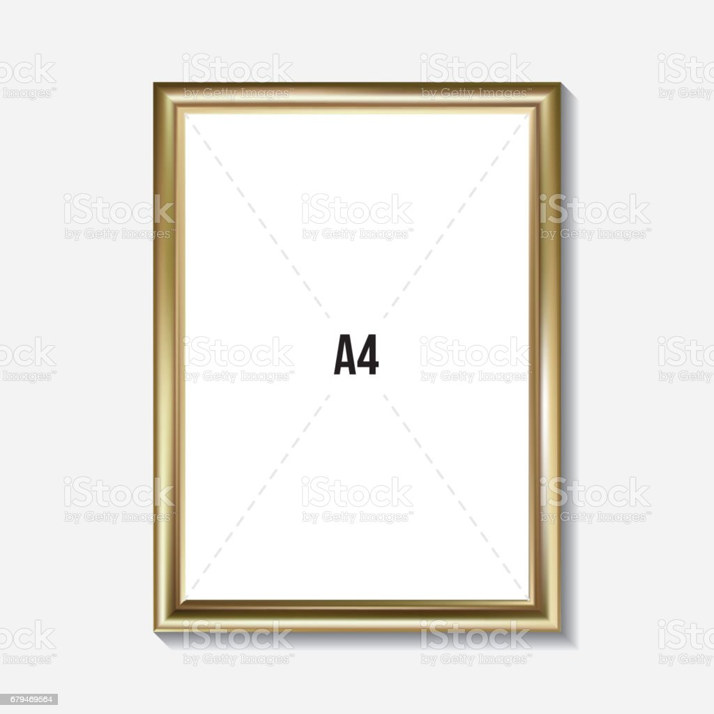 Golden picture frame royalty-free golden picture frame stock vector art & more images of ancient