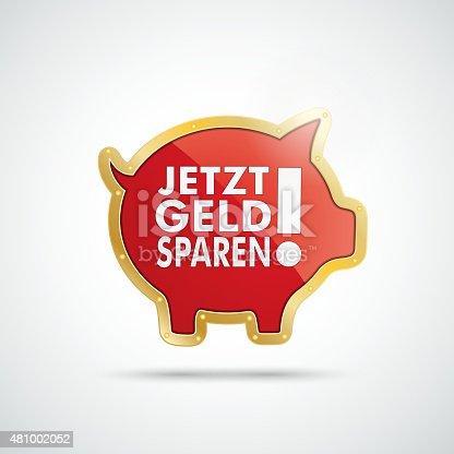 istock Golden Piggy Bank Jetzt Geld Sparen 481002052