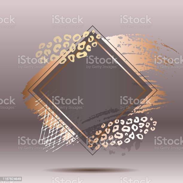 Golden pink art frames modern card design brush stroke lines points vector id1157524649?b=1&k=6&m=1157524649&s=612x612&h=n994dkg7gu6shi0lmtnywwkmnusd3tcvnu1wnei9ba4=