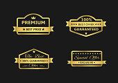 Golden Premium labels