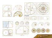 istock Golden ratio for creative design vector illustration. 1199952709