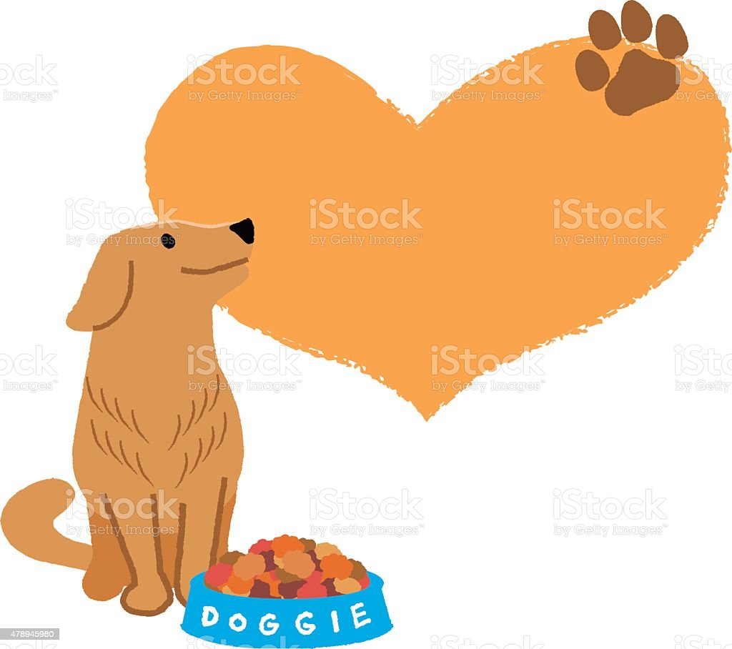 royalty free golden retriever clip art vector images