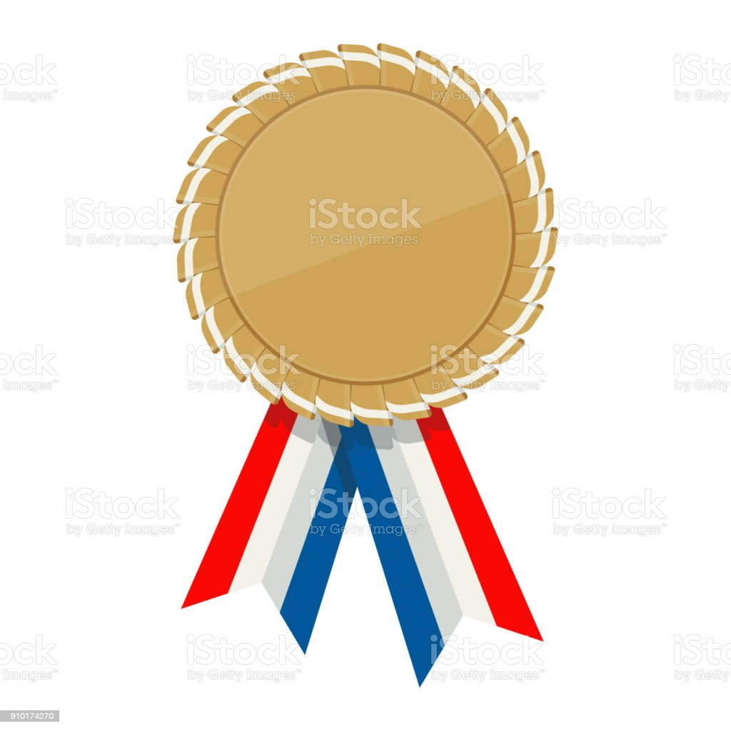 golden ribbon awards template stock vector art more images of