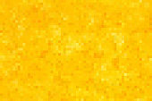 Golden seamless pixel background