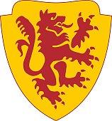 a heraldic symbol