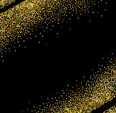 Vector abstract golden shining background for design