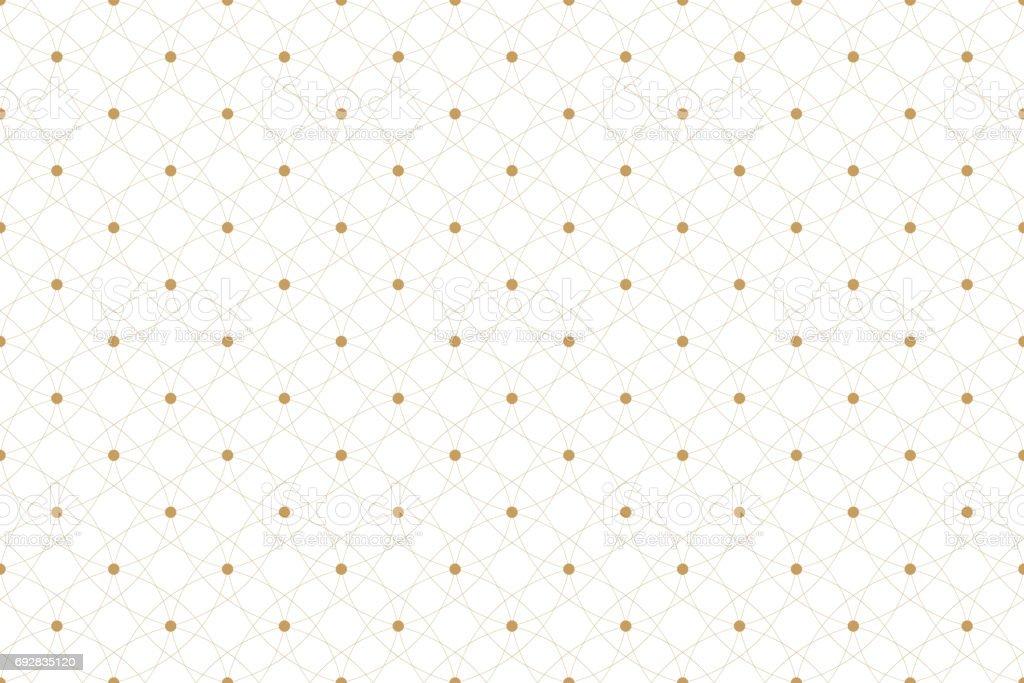 Ilustración de Textura Dorada Patrón Geométrico Sin Costura Con ...