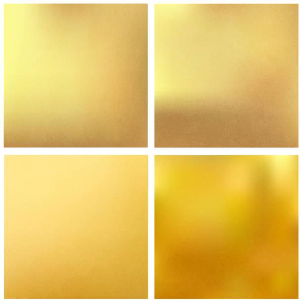 Golden textured square backgrounds. Vector vector art illustration