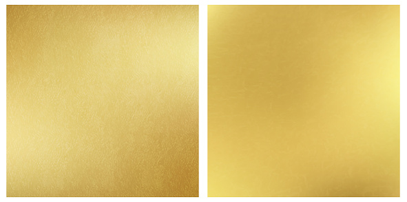 Golden textured square backgrounds. Vector