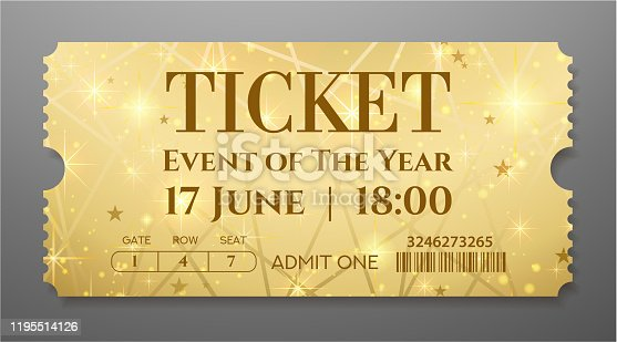 Useful for any festival, party, cinema, event, entertainment magic show. VIP card