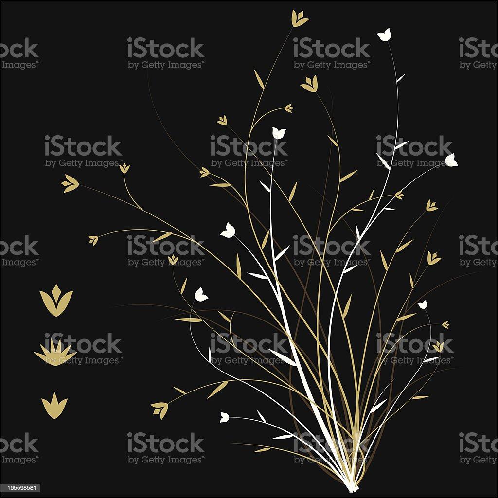 Golden árbol ilustración de golden árbol y más banco de imágenes de abstracto libre de derechos