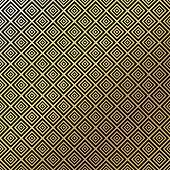 Golden vintage pattern on black background. Vector illustration for retro design. Gold abstract wallpaper. Elegant luxury seamless foil