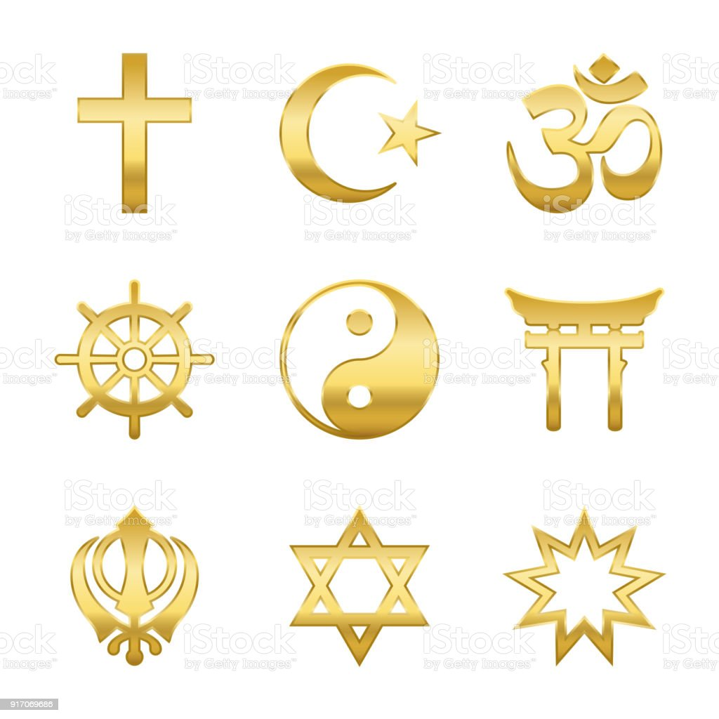 Golden world religion symbols signs of major religious groups and golden world religion symbols signs of major religious groups and religions christianity islam buycottarizona