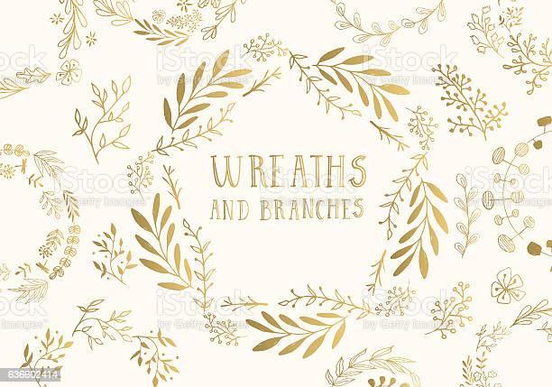 Golden wreaths vector id636602414?b=1&k=6&m=636602414&s=612x612&h=9eucm1wnt0kb0qwqxo8v8c4w87mcarrudinngz6t7d4=