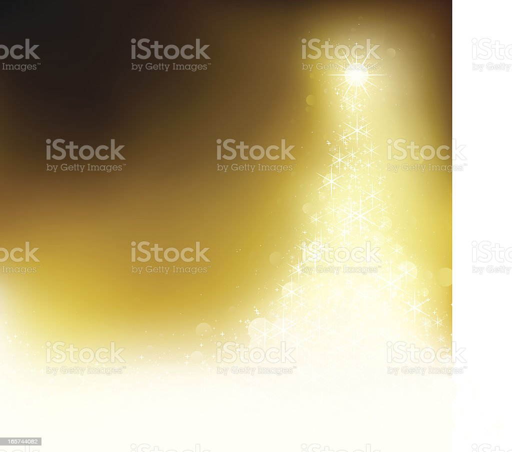 Golden xmas. EPS8 vector art illustration