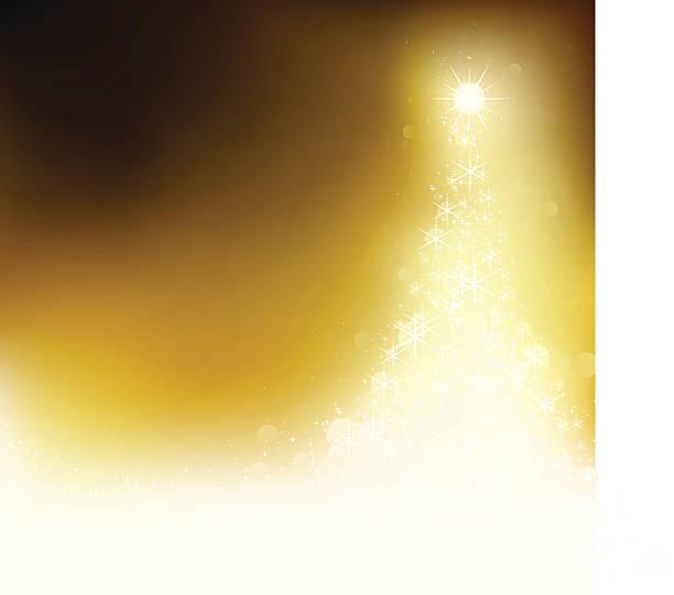 Golden xmas. EPS8 vector art illustration
