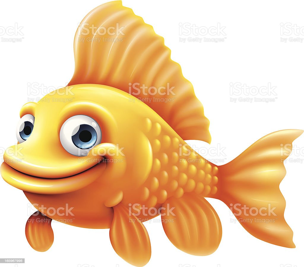 royalty free goldfish clip art vector images illustrations istock rh istockphoto com goldfish clipart images clipart goldfish bowl