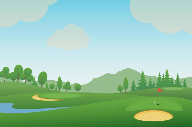 ilustrações de stock, clip art, desenhos animados e ícones de golf 14 - golf