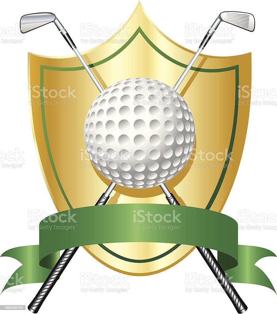 Golf Award royalty-free stock vector art