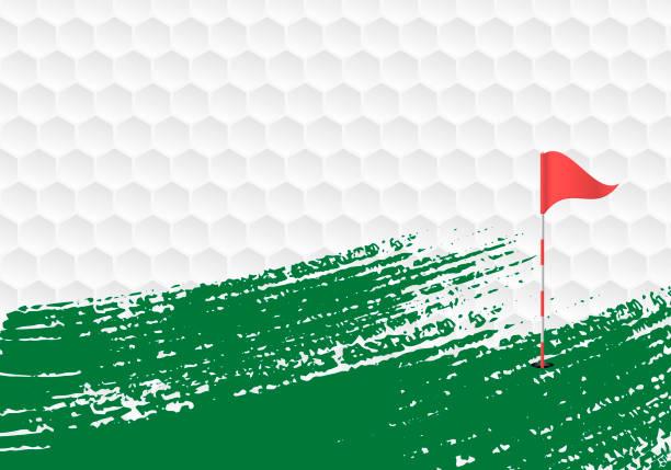 ilustrações de stock, clip art, desenhos animados e ícones de golf background - golf
