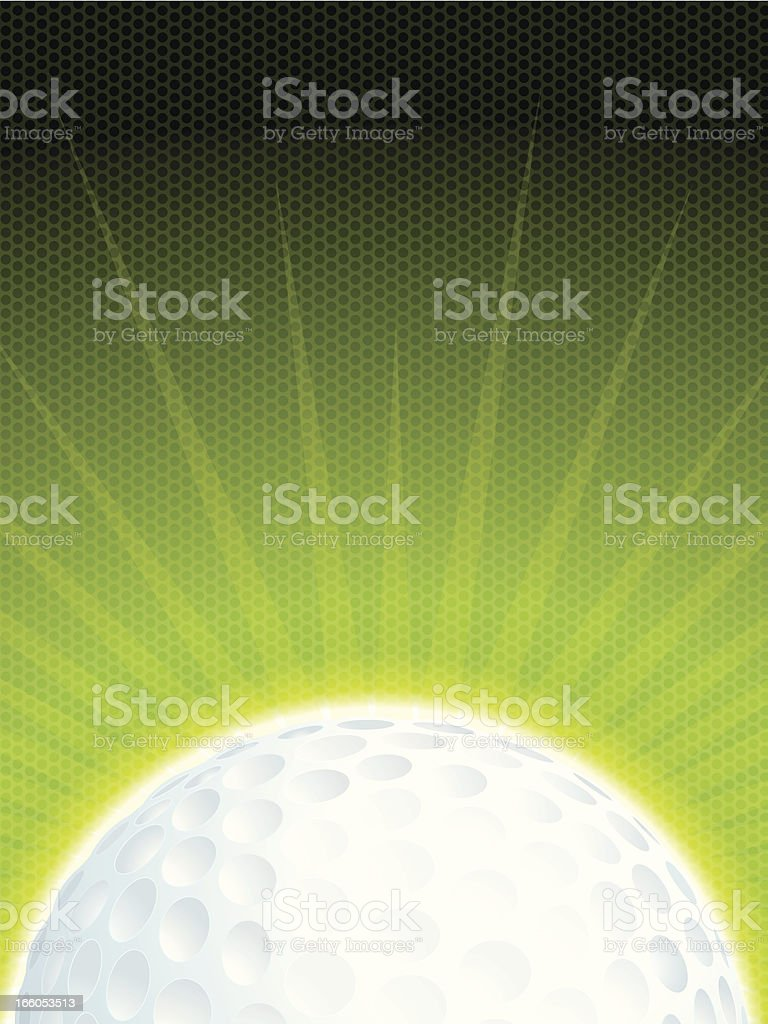 Golf Ball Background royalty-free golf ball background stock vector art & more images of backgrounds