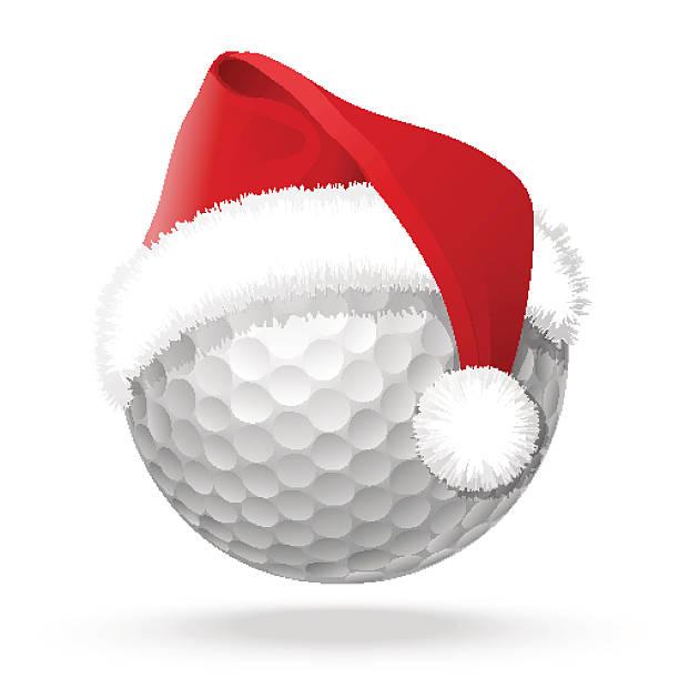 Royalty Free Santa Golf Clip Art, Vector Images ...