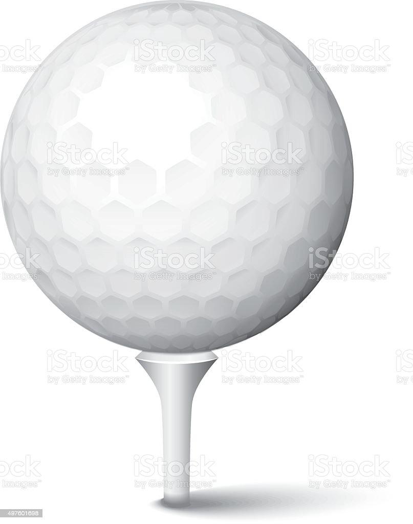 Golf Tee Vector