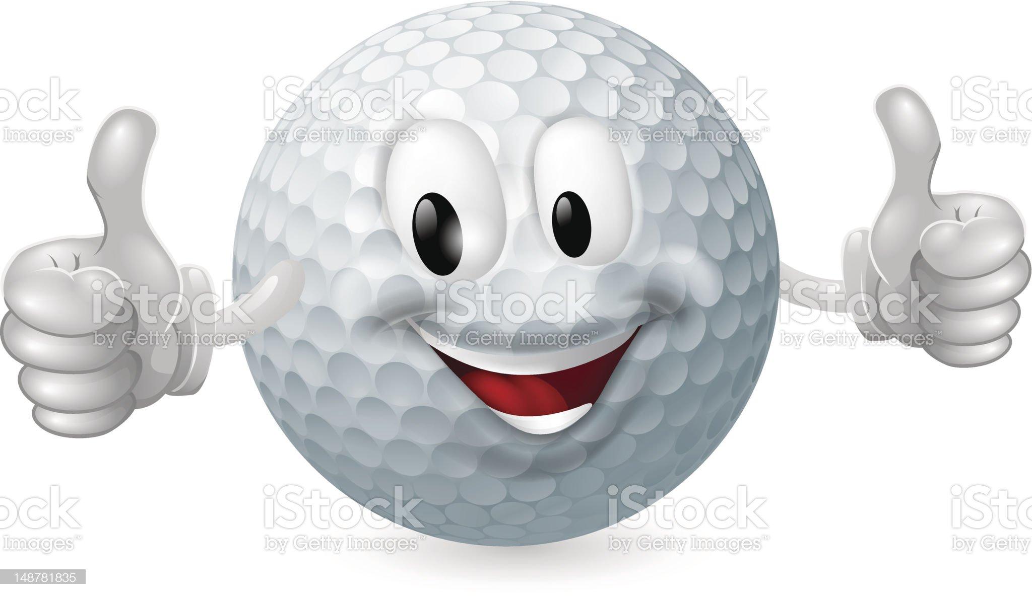 Golf Ball Mascot royalty-free golf ball mascot stock vector art & more images of golf ball