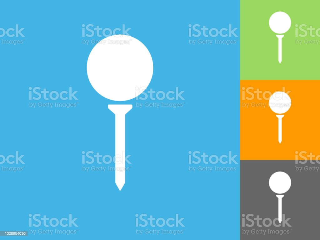 Golf Ball On Tee Flat Icon On Blue Background Stock Vector Art ... Design Logo Golf Ball Tee on professional golf logo, nike golf logo, golf cap logo, golf club logo, golf bc logo, golf glove logo, golf travel logo, las vegas review-journal logo, golf green logo, golf school logo, dga disc golf logo, golf bar logo, disc golf basket logo, golf shirt logos, golf car logo, golf ball logo, golf course logo, golf design logo, golf bag logo, golf pants logo,