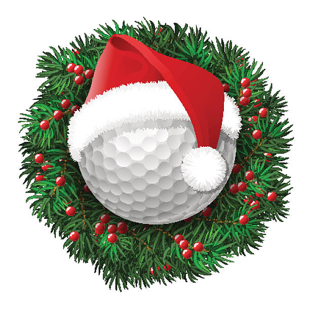 Top 60 Christmas Golf Clip Art, Vector Graphics and ...