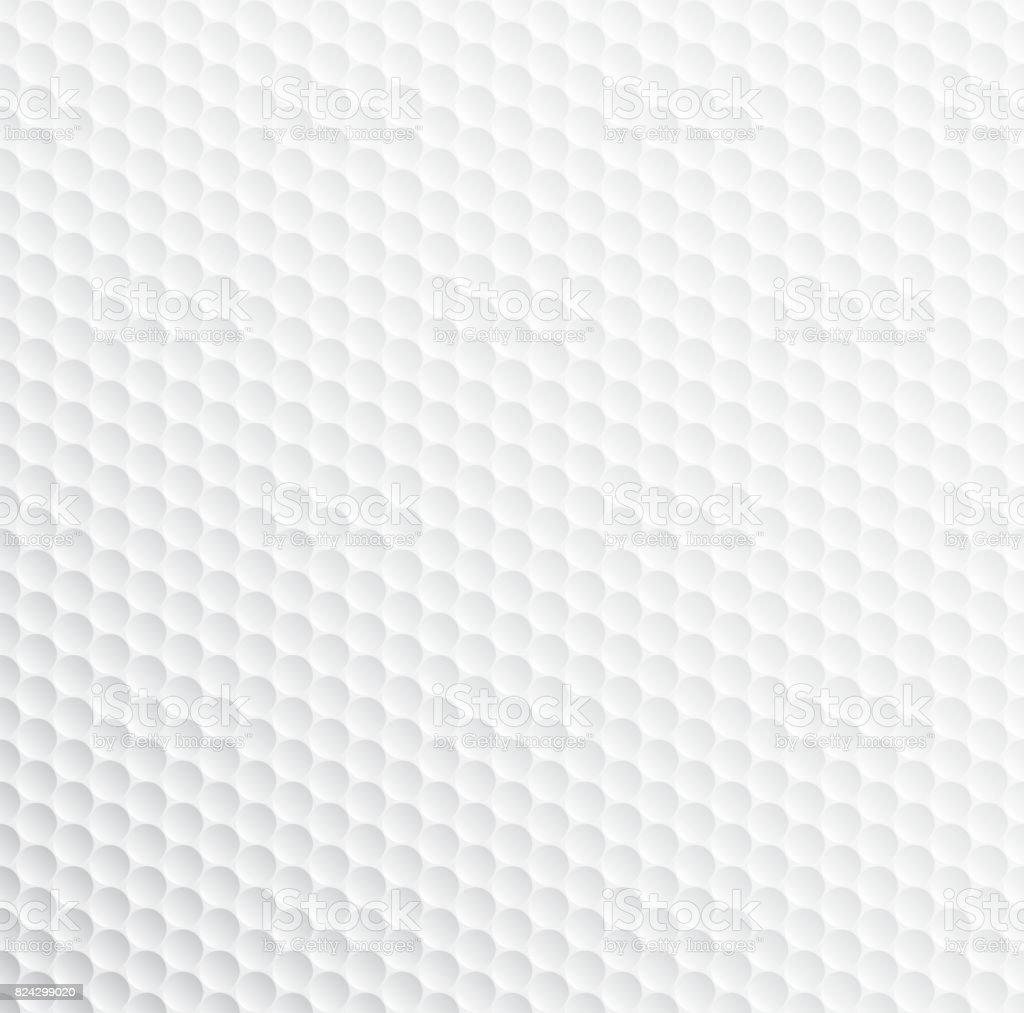 Padrão de bola de golfe - ilustração de arte em vetor