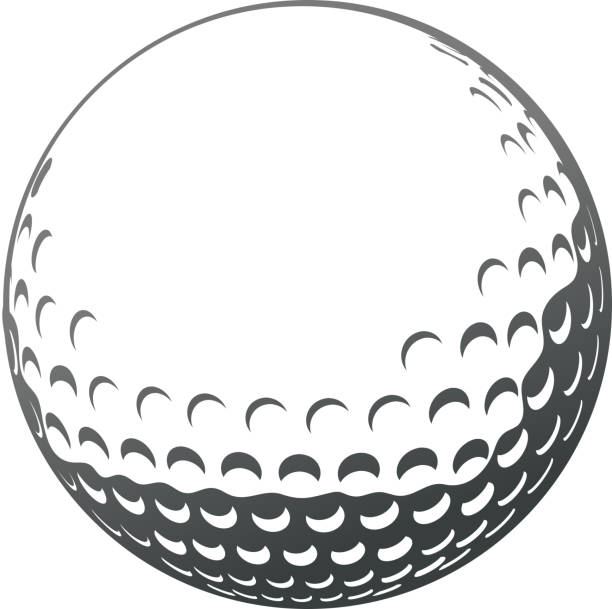royalty free golf ball clip art vector images illustrations istock