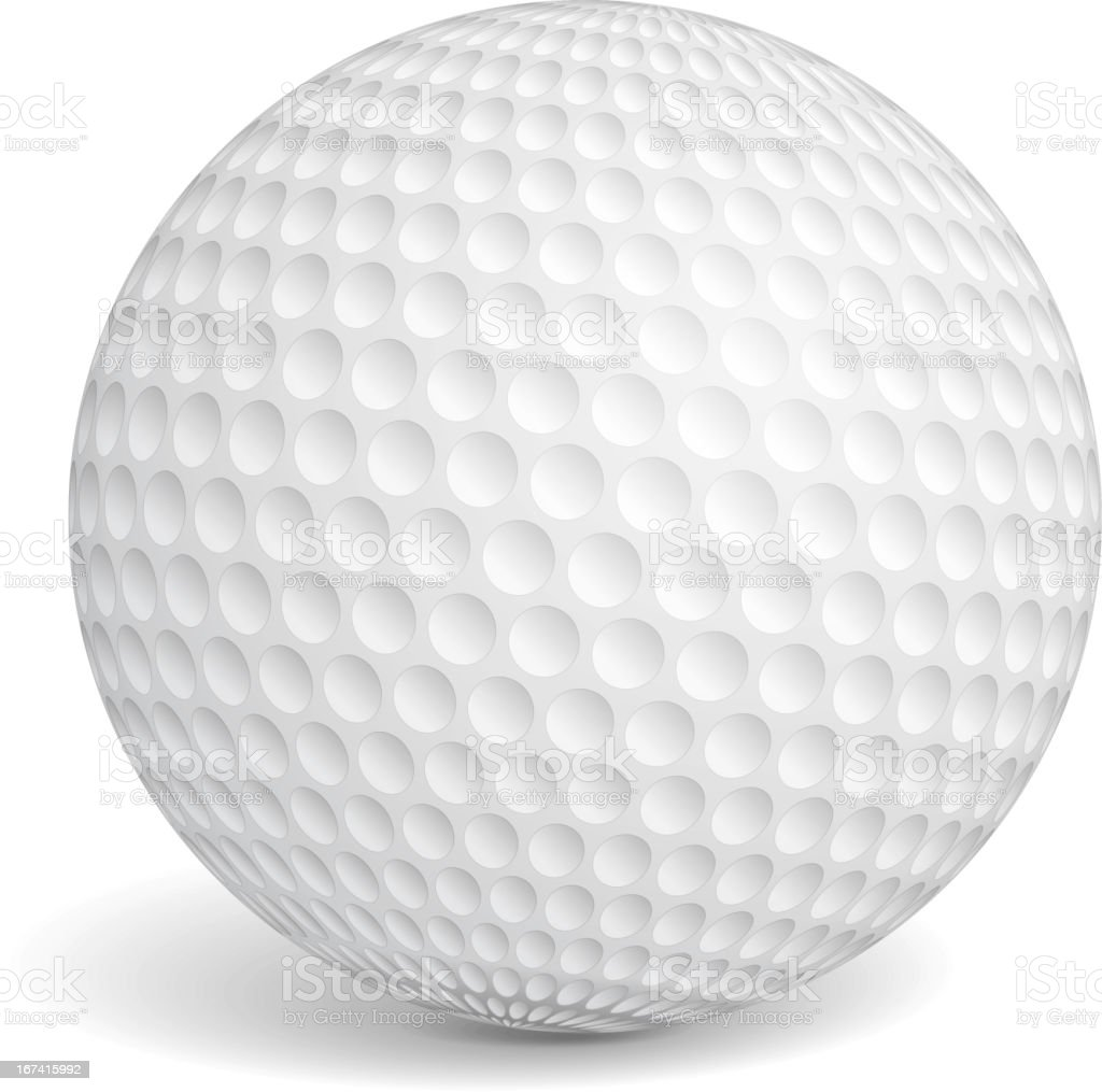 Golf Ball royalty-free stock vector art