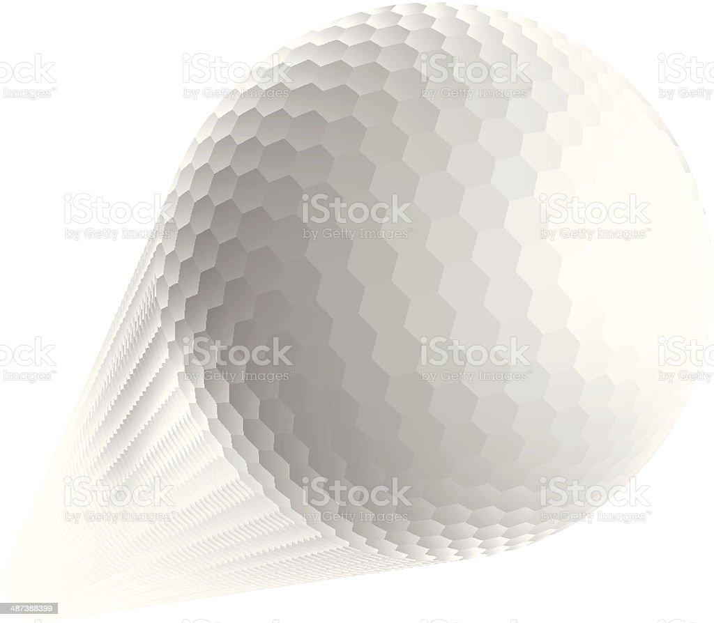 royalty free golf ball in flight clip art vector images rh istockphoto com Silhouette Vector Golf Balls Golf Balls Clip Art Vector