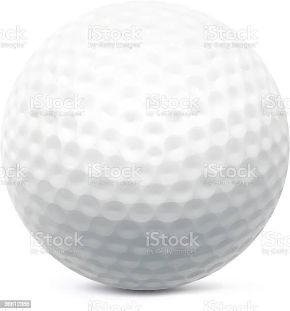 Мяч Для Гольфа — стоковая векторная графика и другие изображения на тему Мяч для гольфа