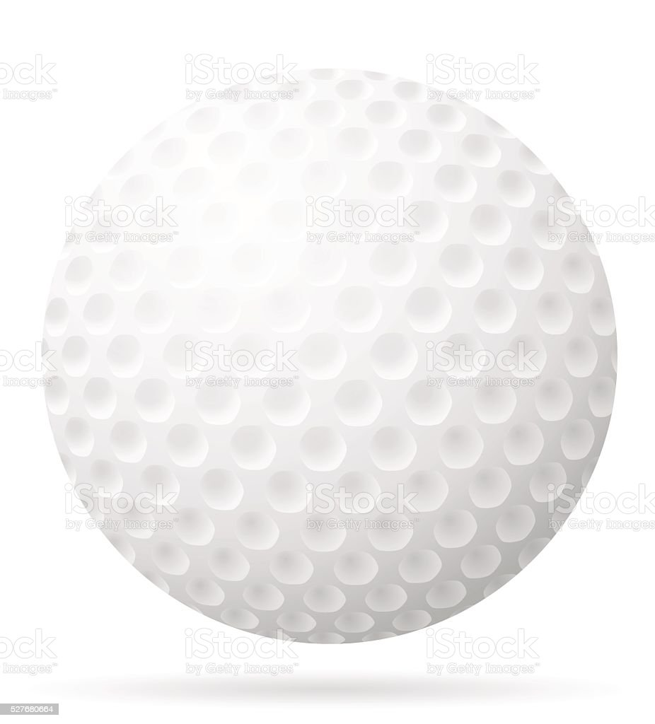 golf ball vector illustration stock vector art more images of