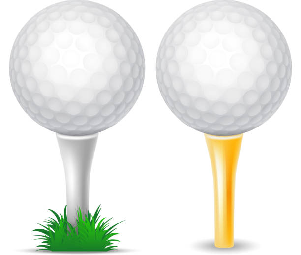 3 563 Golf Ball On Tee Illustrations Royalty Free Vector Graphics Clip Art Istock