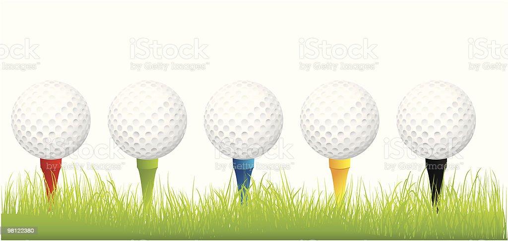 골프 공 royalty-free 골프 공 0명에 대한 스톡 벡터 아트 및 기타 이미지