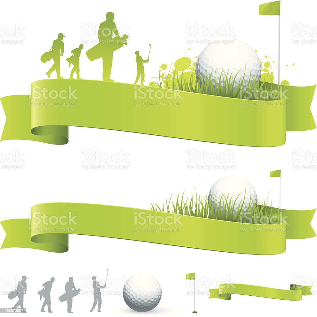 Golf Banners Stock Illustration Download Image Now Istock