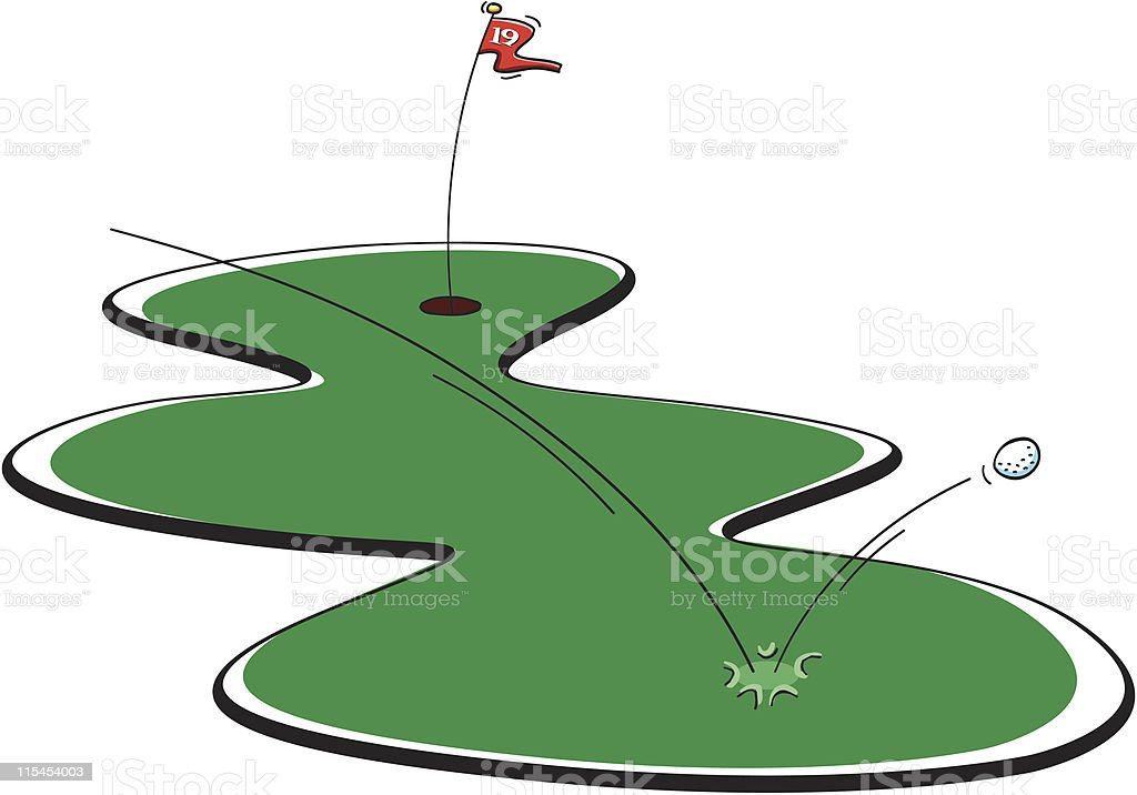 Golf Bounce royalty-free golf bounce stock vector art & more images of cartoon