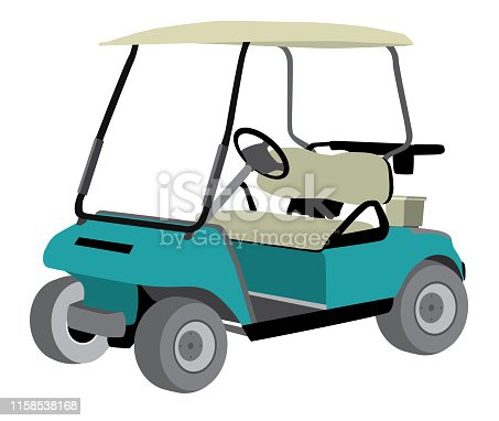Free Golf Cart Clipart In Ai Svg Eps Or Psd
