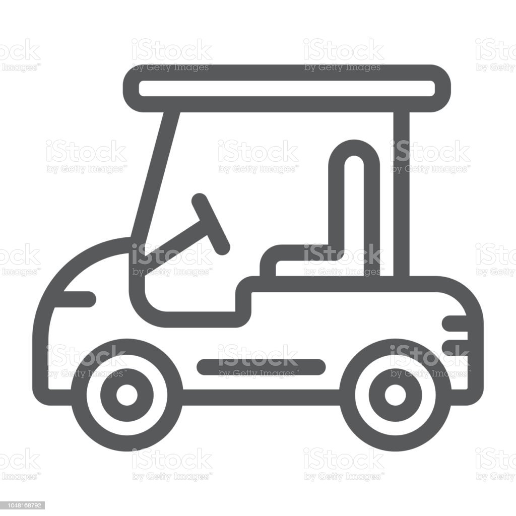 Golf Car Line Icon Automobile And Sport Cart Sign Vector Graphics A Golf Cart Clip Art Line on car clip art, motorcycles clip art, golfer clip art, kayak clip art, funny golf clip art, forklift clip art, vehicle clip art, atv clip art, high quality golf clip art, baby clip art, golf borders clip art, motorhome clip art, golf tee clip art, golf clipart, computer clip art, grill clip art, hole in one clip art, golf outing clip art, golf flag clip art, golf club clip art,