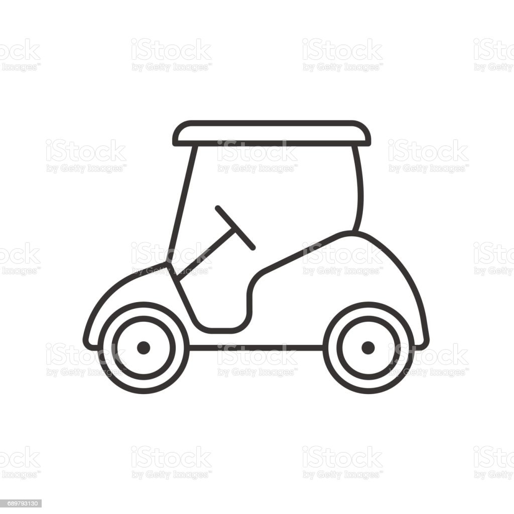 Golf Cart Icon stock vector art 689793130 | iStock Painted Golf Carts Black And White on silver golf carts, black painted furniture, black painted doors, black painted wheels, black painted cabinets, black painted trucks, navy golf carts, two tone golf carts, brown golf carts, chrome golf carts,