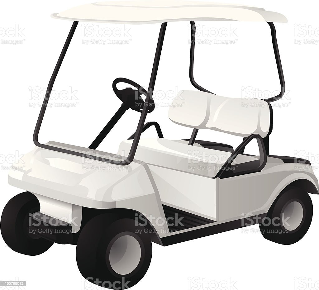royalty free golf cart clip art vector images illustrations istock rh istockphoto com golf cart clip art cartoons golf cart clip art images