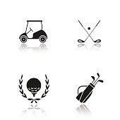Golf championship icons