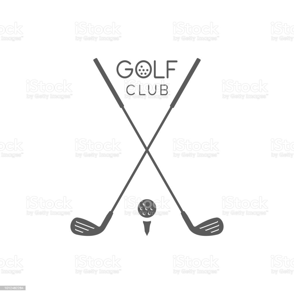 Golf club Logo Golf club Logo. flat style. isolated on white background Agricultural Field stock vector