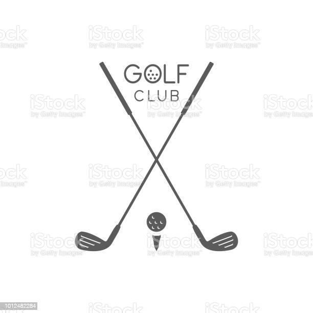 Golf Club Logo Stock Illustration - Download Image Now