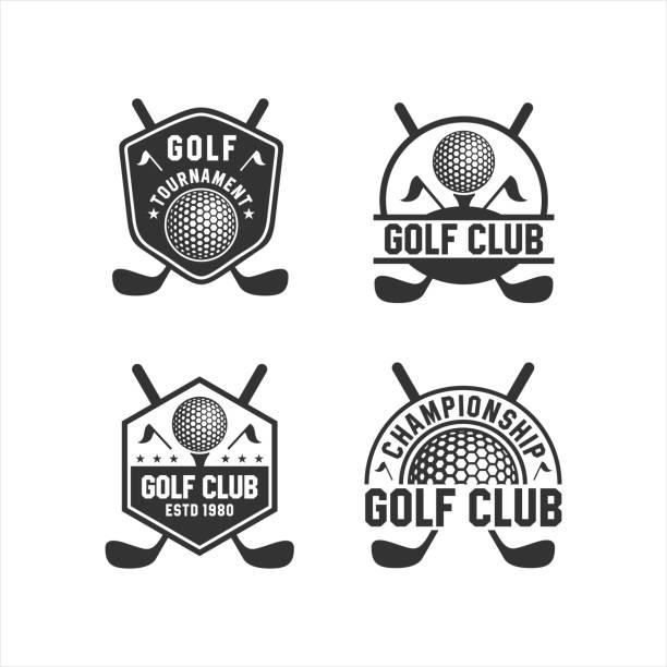 Golf Club Tournament Logos Collections Golf Club Tournament Logos Collections golf logo stock illustrations