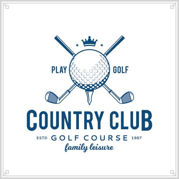ゴルフ カントリー クラブ アイコン - ゴルフ点のイラスト素材/クリップアート素材/マンガ素材/アイコン素材
