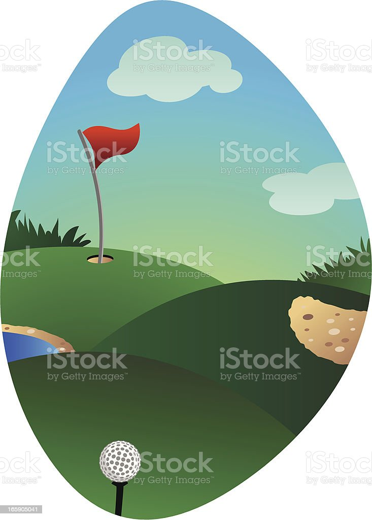 Golf Course royalty-free golf course stock vector art & more images of day